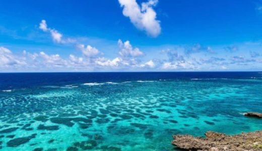 サンゴ礁の青いプランクトン