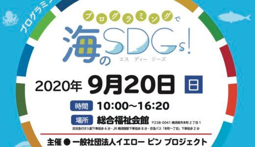 「プログラミンで海のSDGs!」で講演